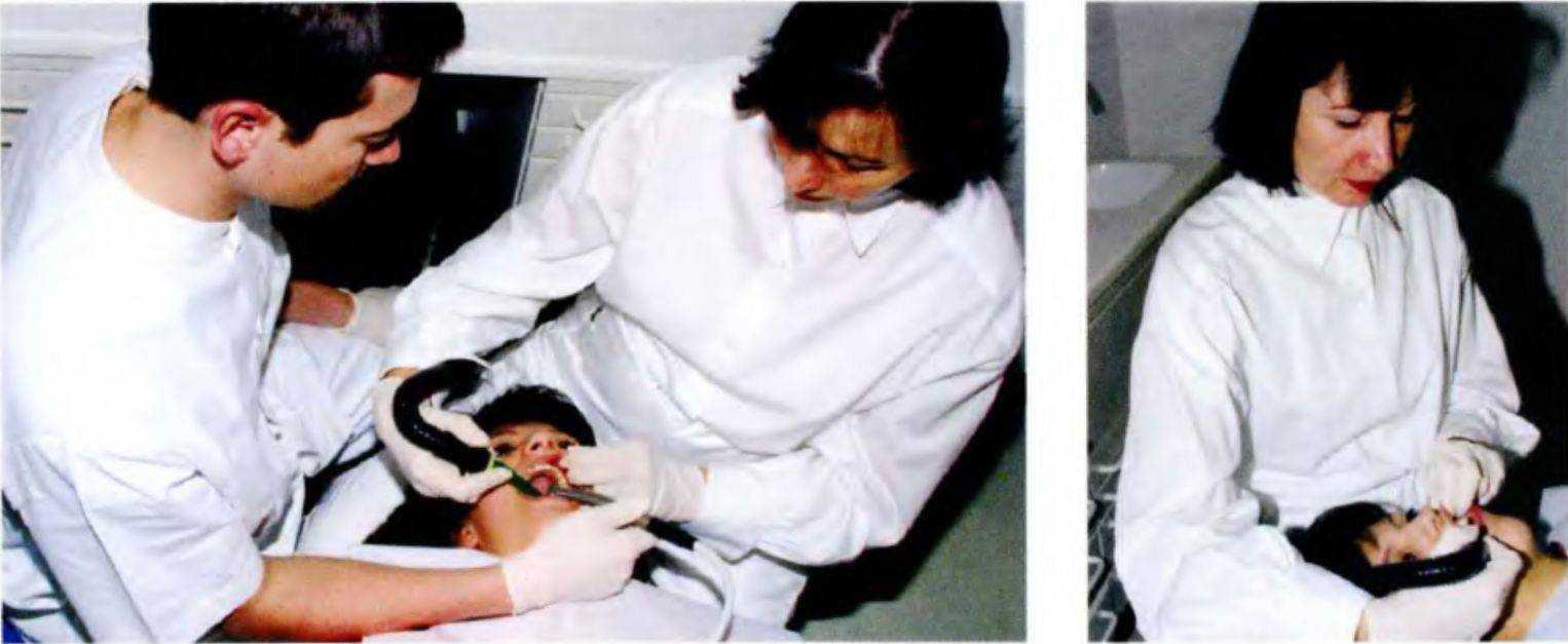 Отсос в стоматолога