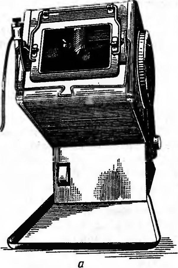 Пескоструйный аппарат (а) и